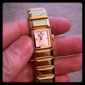 Gold Toned Swarovski watch